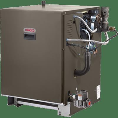 Lennox GWB8-IE boiler.