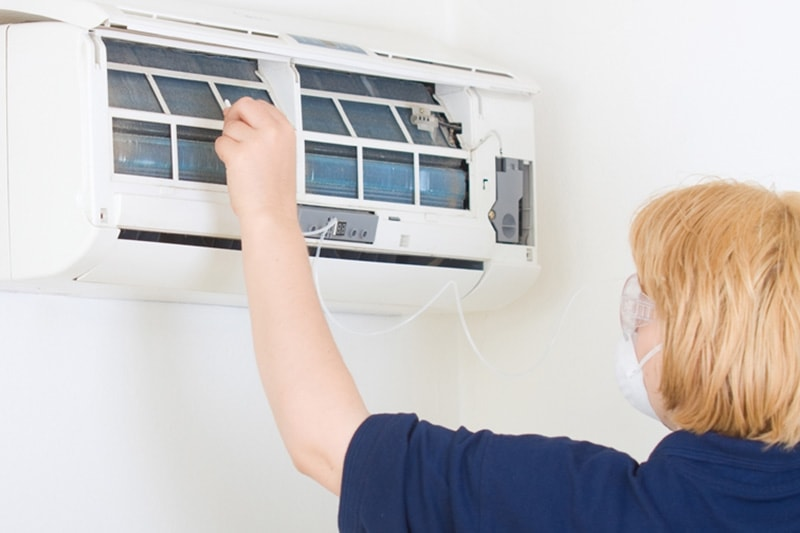 is maintenance needed for a ductless system?