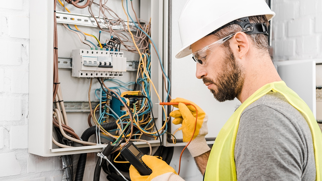 Commercial electrical service.