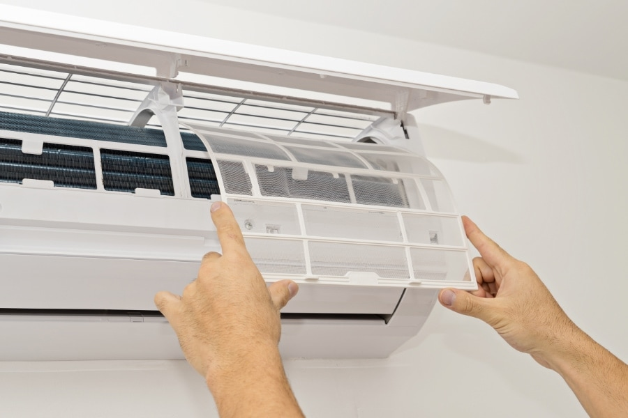 ductless maintenance.